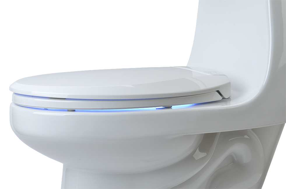 Lunawarm Heated Nightlight Toilet Seat Toiletland Canada