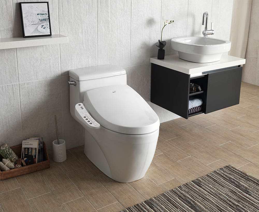 Biobidet Luxury Class A7 Aura Bidet Toilet Seat